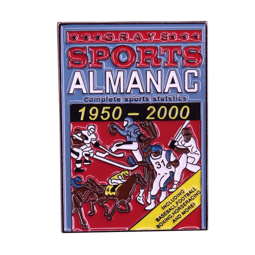 Grays Sports Almanac, Back To The Future Pin - BellePark