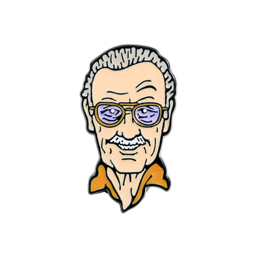 Stan Lee Enamel Pin - BellePark
