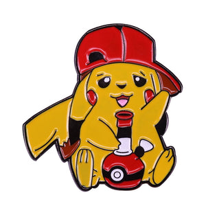 Pikachu Smokes from a Pokeball Bong - BellePark