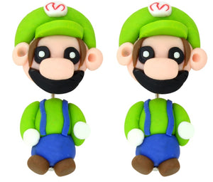 Luigi Polymer Clay Earrings - BellePark