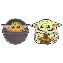 Load image into Gallery viewer, Baby Yoda Pins - BellePark