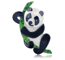 Load image into Gallery viewer, Panda Panda Panda Brooch - BellePark