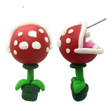 Piranha Plant Mario Earrings - BellePark