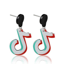Load image into Gallery viewer, Tik Tok Earrings - BellePark