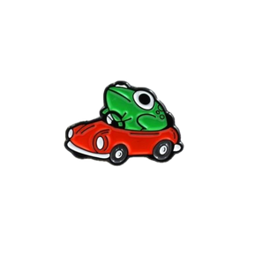 Mother 3 Frog in Car Enamel Pin - BellePark