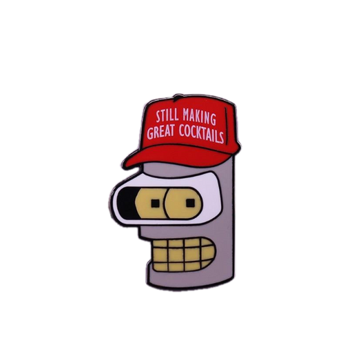 Bender for President Pin - BellePark