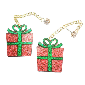 Christmas Collection - Present Drop Earrings - BellePark