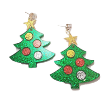 Load image into Gallery viewer, Christmas Collection - Christmas Tree Earrings - BellePark