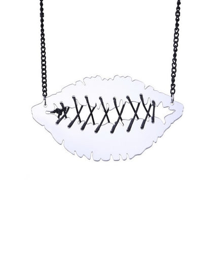 My Lips are Sealed Necklace - BellePark