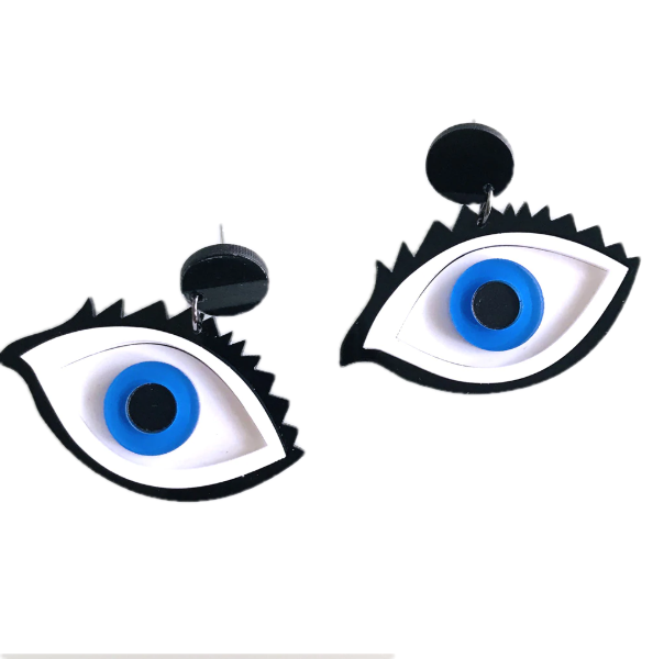I have my eyes on you Earrings - BellePark