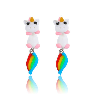 Unicorn Fart Earrings - BellePark