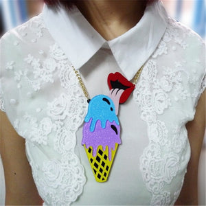 Out of Cone-trol Necklace - BellePark