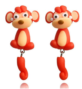 Cheeky Monkey Earrings - BellePark