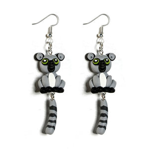 Lemur Alone Earrings - BellePark