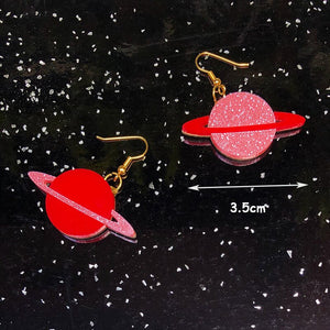 Saturn's Rings Earrings - BellePark