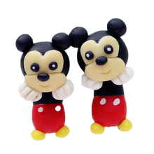 Load image into Gallery viewer, Baby Mickey Handmade Polymer Clay Earrings - BellePark