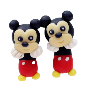 Baby Mickey Handmade Polymer Clay Earrings - BellePark
