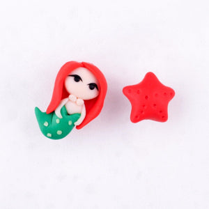 Ariel & The Magical Wishing Starfish Earrings - BellePark