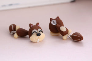Cheeky Chipmunk Earrings - BellePark