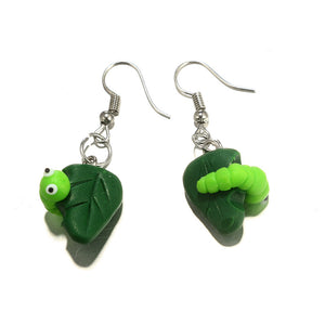 Hungry Caterpillar Earrings - BellePark
