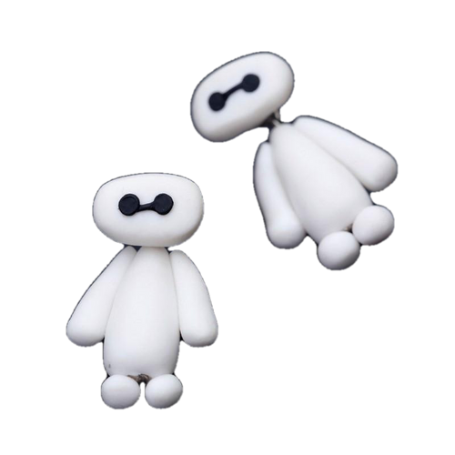 Baymax Polymer Clay Earrings - BellePark