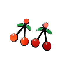 Load image into Gallery viewer, Cherry Poppin's Earrings - BellePark