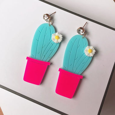 Pretty Fly For a Cacti Earrings - BellePark