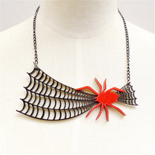 Load image into Gallery viewer, Spidey Web Necklace - BellePark