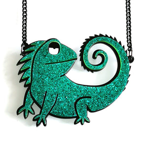 One in a Chameleon Necklace - BellePark