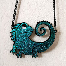 Load image into Gallery viewer, One in a Chameleon Necklace - BellePark
