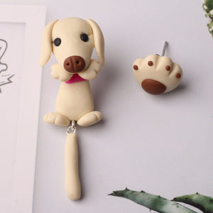 Asymmetrical Labrador Earrings - BellePark
