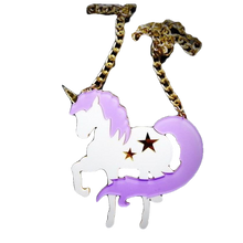 Load image into Gallery viewer, Prancing Unicorn Necklace - BellePark