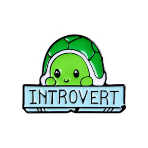 Introverted Turtle Pin - BellePark