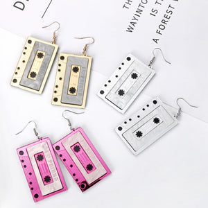 Classic Cassettes Earrings - BellePark