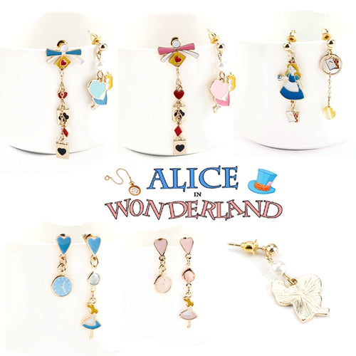 Alice in Wonderland Collection Earrings - BellePark