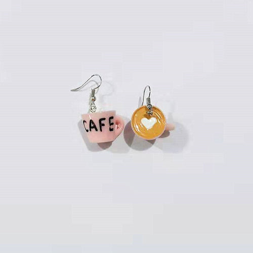 Love Milk Coffee Earrings - BellePark