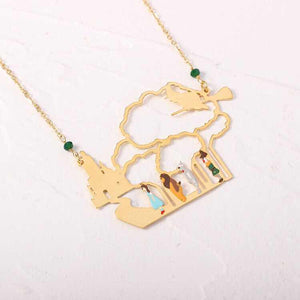 Follow the Yellow Brick Road Necklace - BellePark