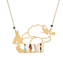 Load image into Gallery viewer, Follow the Yellow Brick Road Necklace - BellePark