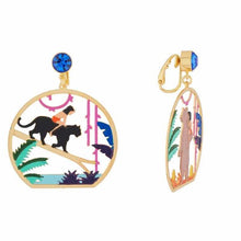 Load image into Gallery viewer, Baloo and Mowgli Earrings - BellePark