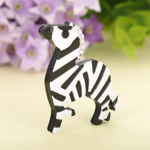 Zebra Crossing Brooch - BellePark