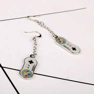 Super Nintendo Game Controller Earrings - BellePark