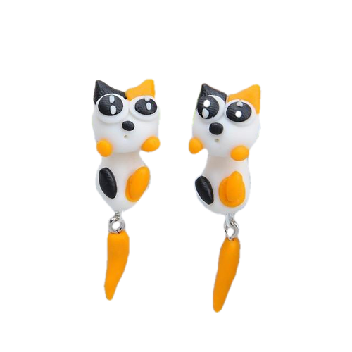 Calico Kitten Earrings - BellePark