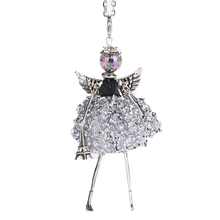 Load image into Gallery viewer, Angel in Paris Necklace - BellePark