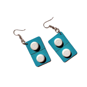 Blister Pack Tabs Earrings