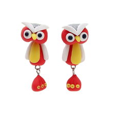 Load image into Gallery viewer, Howl Owl Earrings - BellePark