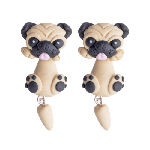 Pugalicious Earrings - BellePark