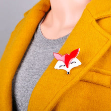 Load image into Gallery viewer, Foxy Lady Brooch - BellePark