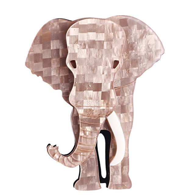 Nelly the Elephant Brooch - BellePark
