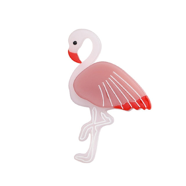 Single and Ready to Flamingle  Brooch - BellePark