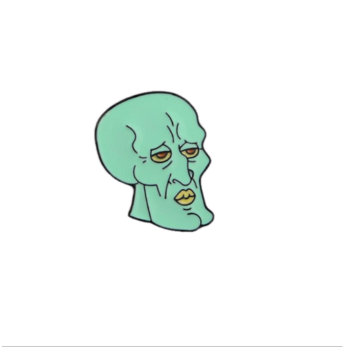 Squidward Meme Enamel Pin - BellePark